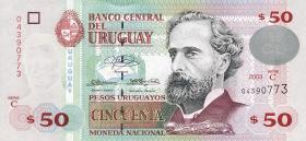 Uruguay P.84 50 Pesos 2003 (1)