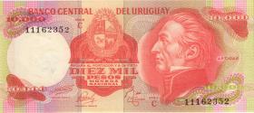 Uruguay P.53c 10000 Pesos (1974) (1)