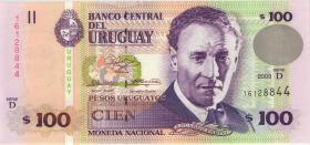 Uruguay P.85a 100 Pesos 2003 (1)