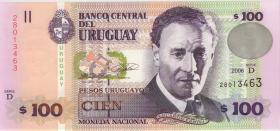Uruguay P.85A 100 Pesos 2006 (1)