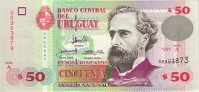 Uruguay P.75a 50 Pesos Uruguayos 1994 (1)