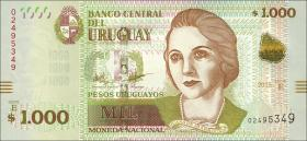 Uruguay P.98 1000 Pesos Uruguayos  2015 (1)