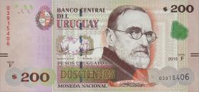 Uruguay P.neu 200 Pesos 2015 (1)