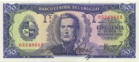 Uruguay P.46 50 Pesos (1967) (1)