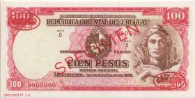 Uruguay P.39cs 100 Pesos L. 1939 (1-)
