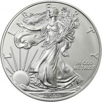 USA Silber-Unze 2012 Eagle/ Liberty