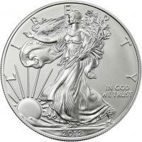 USA Silber-Unze 2012 Eagle/ Liberty