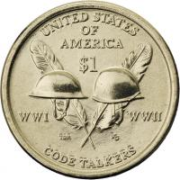 USA 1 Dollar 2016 Indianerin / Code Talkers