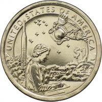 USA 1 Dollar 2019 Indianerin / U.S. Space Program