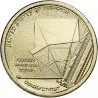 USA 1 Dollar 2020 Gerber variable scale - Connecticut