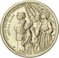 USA 1 Dollar 2020 Septima Clark - South Carolina