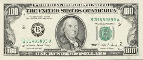 USA / United States P.485 100 Dollars 1988 (1)