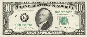 USA / United States P.476 10 Dollars 1985 (1)