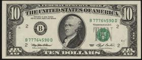 USA / United States P.492 10 Dollars 1993 (1)