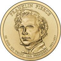 USA 1 Dollar 2010 14. Pierce