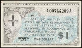 USA / United States P.M05 1 Dollar (1946) Serie 461 (3/2)