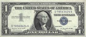 USA / United States P.419a 1 Dollar 1957 A (1)