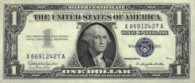 USA / United States P.419b 1 Dollar 1957 B (1)