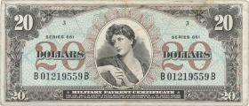 USA / United States P.M71 20 Dollars (1968) (3)