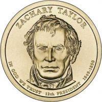 USA 1 Dollar 2009 12. Taylor