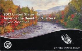 USA Quarter-Set 2013 Silver Proof