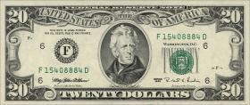 USA / United States P.500 20 Dollars 1995 (1)