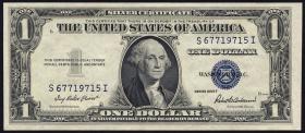 USA / United States P.416D2f 1 Dollar 1935 F (1)
