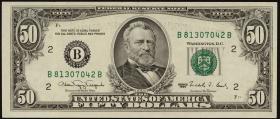 USA / United States P.488 50 Dollars 1990 (1)