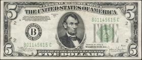 USA / United States P.429Dc 5 Dollars 1934 C (3)