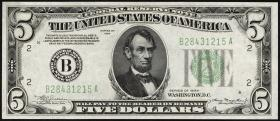 USA / United States P.429D 5 Dollars 1934 (2+)