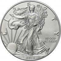 USA Silber-Unze 2018 Eagle/ Liberty