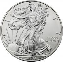USA Silber-Unze 2011 Eagle/ Liberty