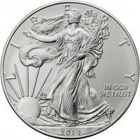 USA Silber-Unze 2014 Eagle/ Liberty