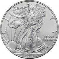 USA Silber-Unze 2019 Eagle/ Liberty
