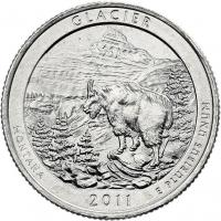 USA 1/4 Dollar 2011 08. Olympic