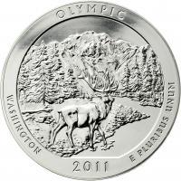 USA 5 Unzen Silber 2011 Olympic