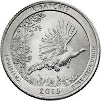 USA 1/4 Dollar 2015 27. Kisatchie