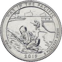 USA 1/4 Dollar 2019 48. War in the Pacific