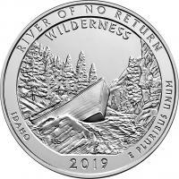USA 1/4 Dollar 2019 50. River of No Return Wilderness