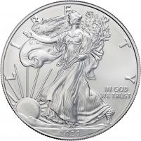 USA Silber-Unze 2020 Eagle/ Liberty