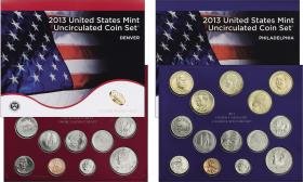 USA Uncirculated Coin Set 2013