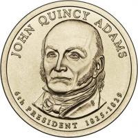 USA 1 Dollar 2008 06. John Quincy Adams