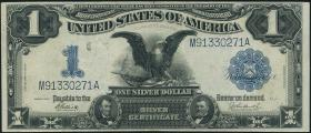 USA / United States P.338c 1 Dollar 1899 Silver Certificate (3)