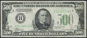 USA / United States P.434 500 Dollar 1934 (1/1-)