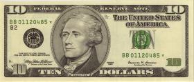 USA / United States P.506r 10 Dollars 1999 * (1)