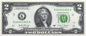 USA / United States P.545 2 Dollars 2017 (1)