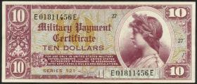 USA / United States P.M35 10 Dollar (1954) (2)