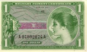 USA / United States P.M72E 1 Dollars (1969) (1)