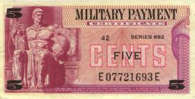 USA / United States P.M91 5 Cents (1970) (3+)