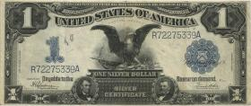 USA / United States P.338c 1 Dollar Silver Certificate (3)
